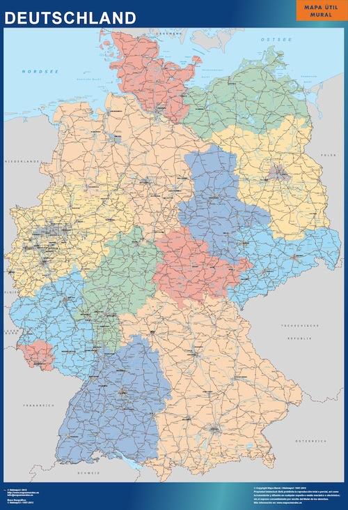 Germany_wall_map
