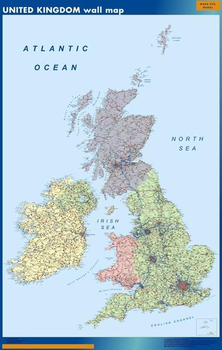 United Kingdom Wall Maps