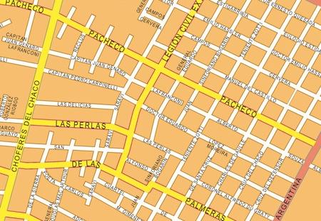 asuncion wall map
