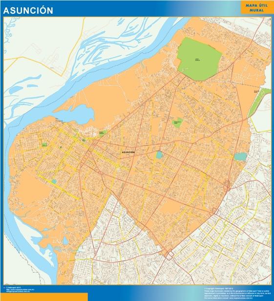 map asuncion