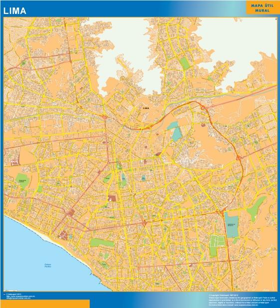 map lima