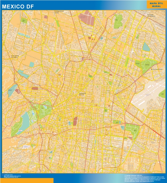 map mexico df