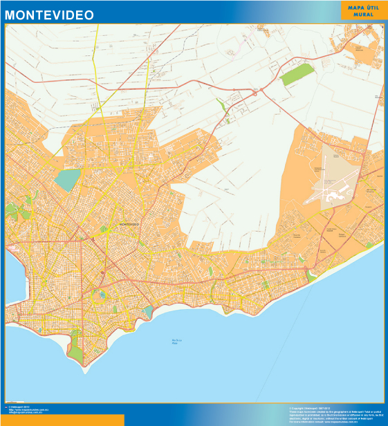 map montevideo