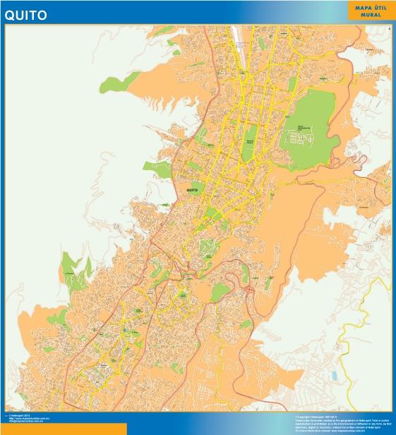 map quito