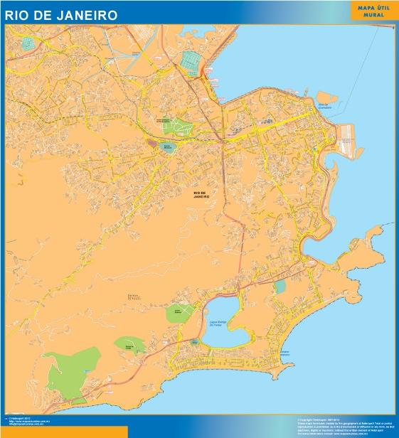 map rio de janeiro