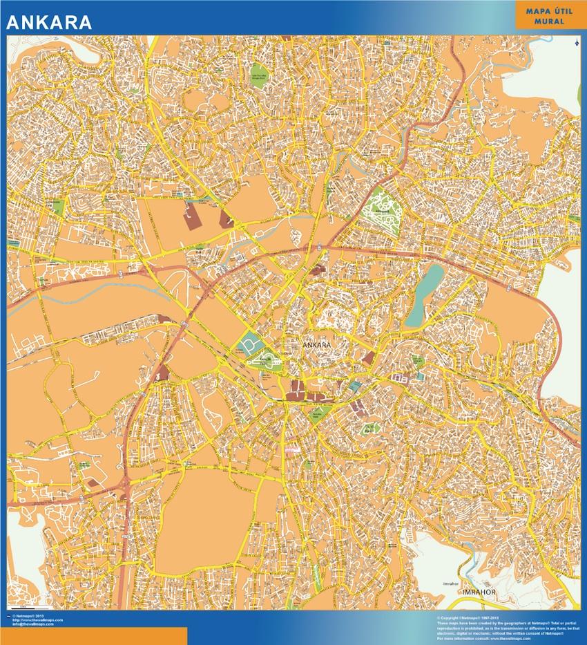 map ankara