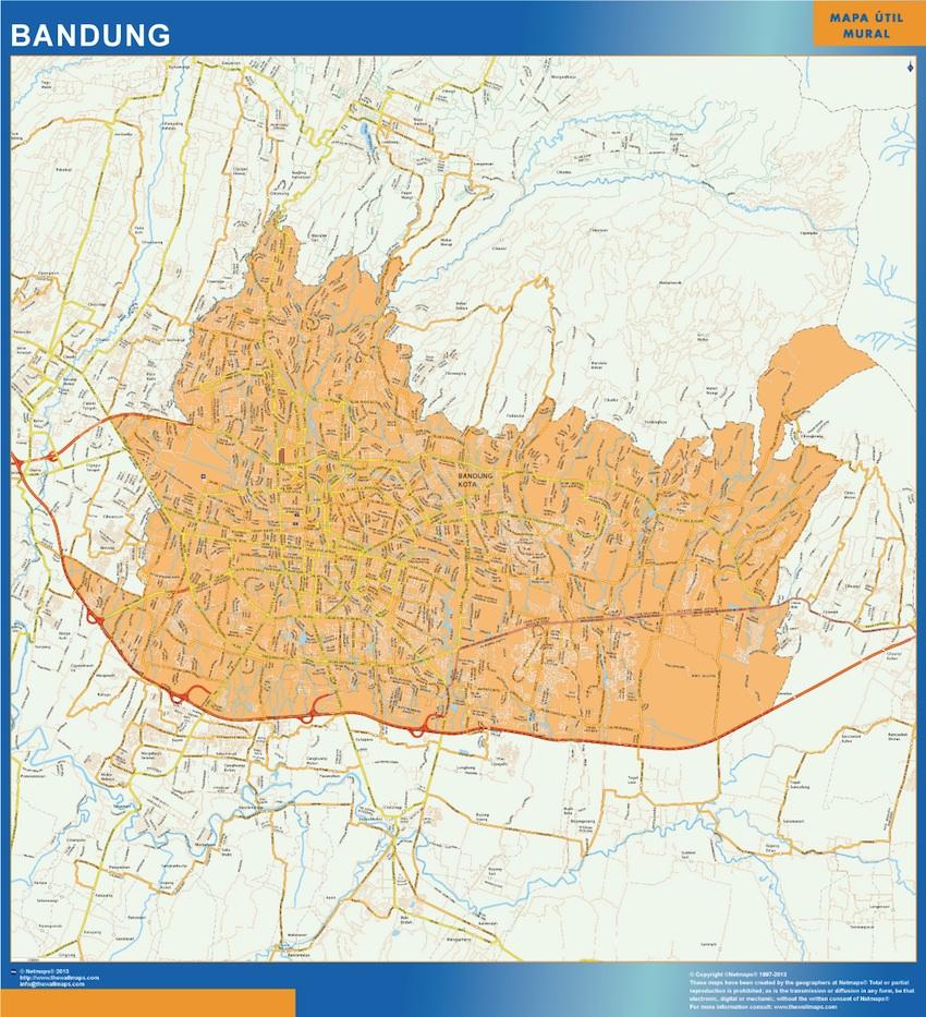 map bandung