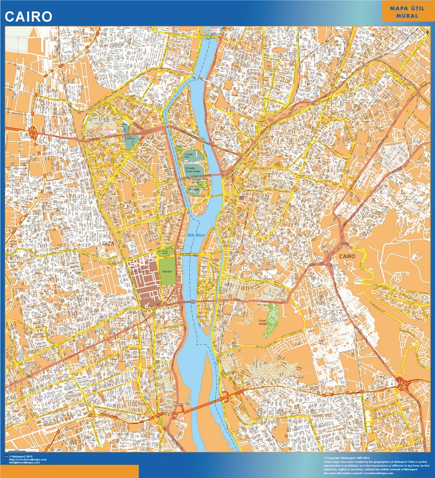 map cairo