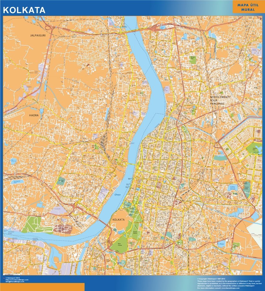 map kolkata