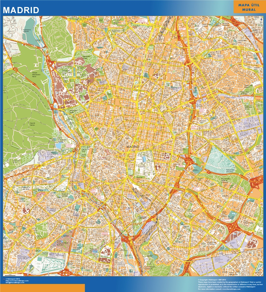 map madrid