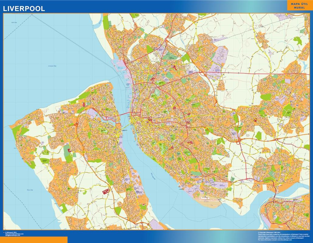 Liverpool map