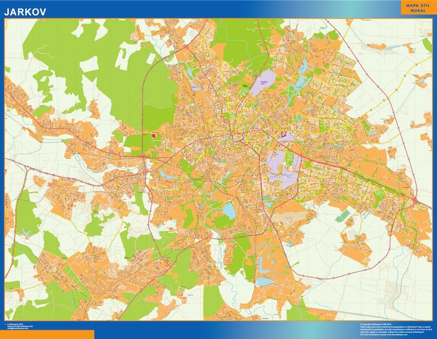 Jarkov map