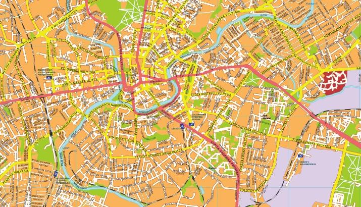 Jarkov streetmap