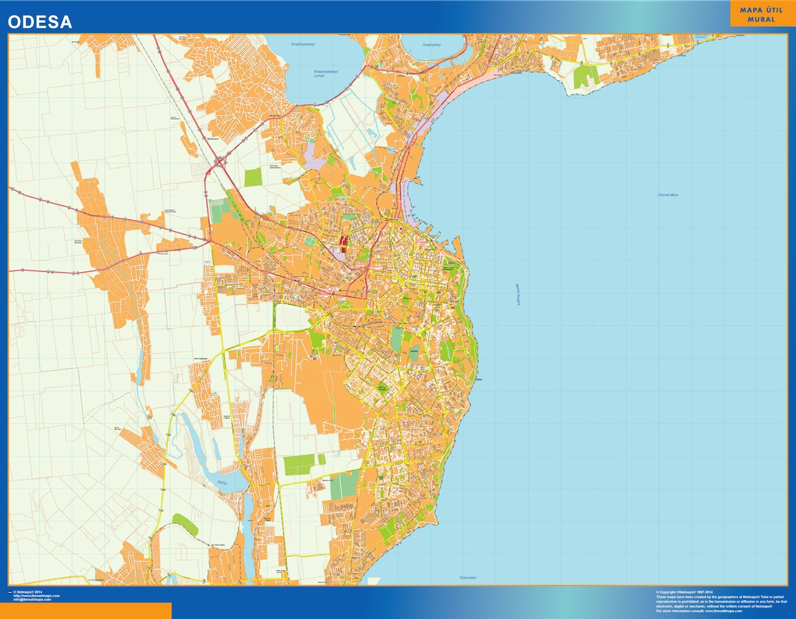 Odesa map
