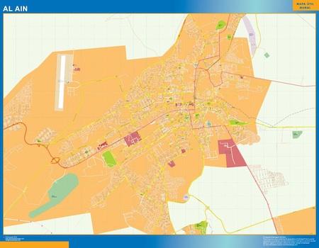 Al-Ain city map