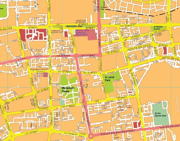 Al-ain map