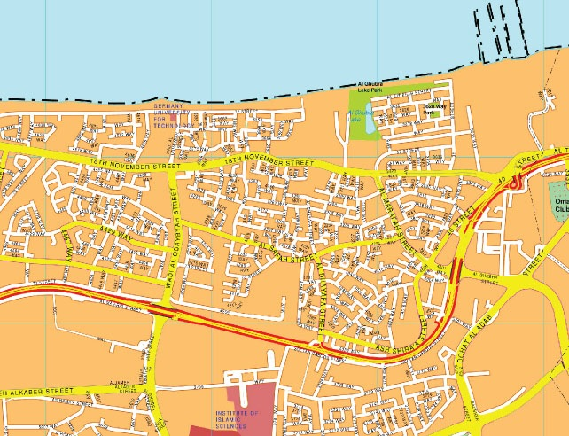 Muscat map