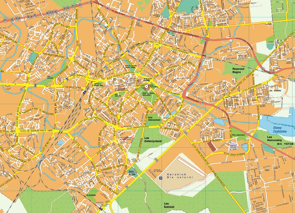 Bialystok map