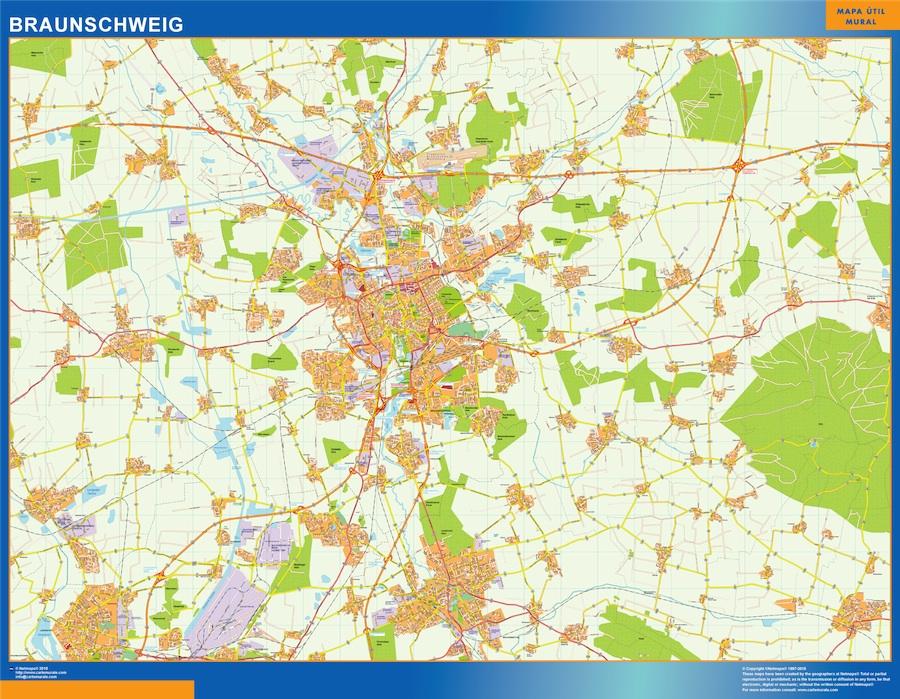 Braunschweig karte