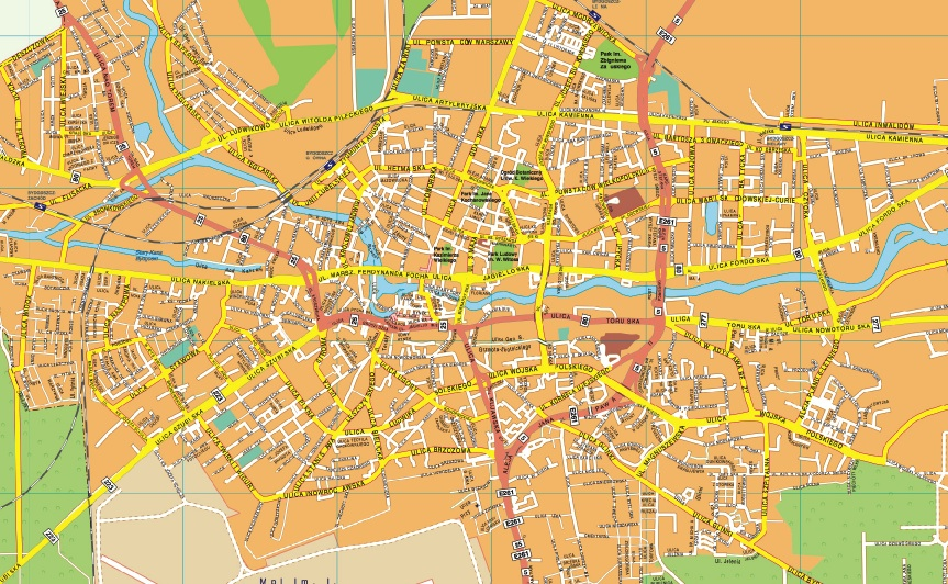 Find And Enjoy Our Bydgoszcz Mapa Thewallmaps Com