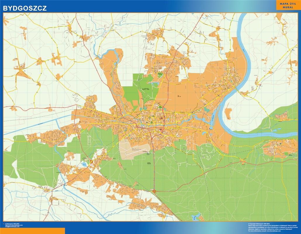 Bydgoszcz mapa