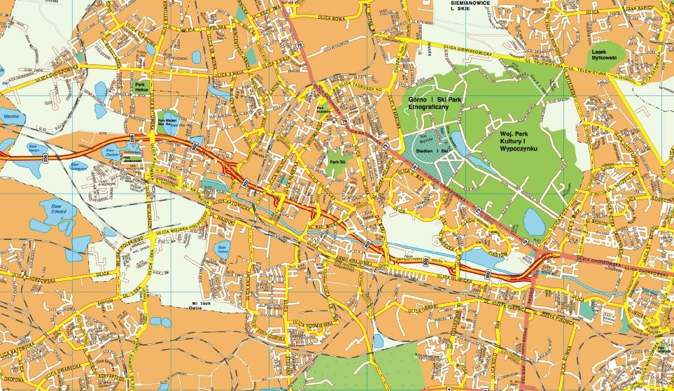 Bytom map