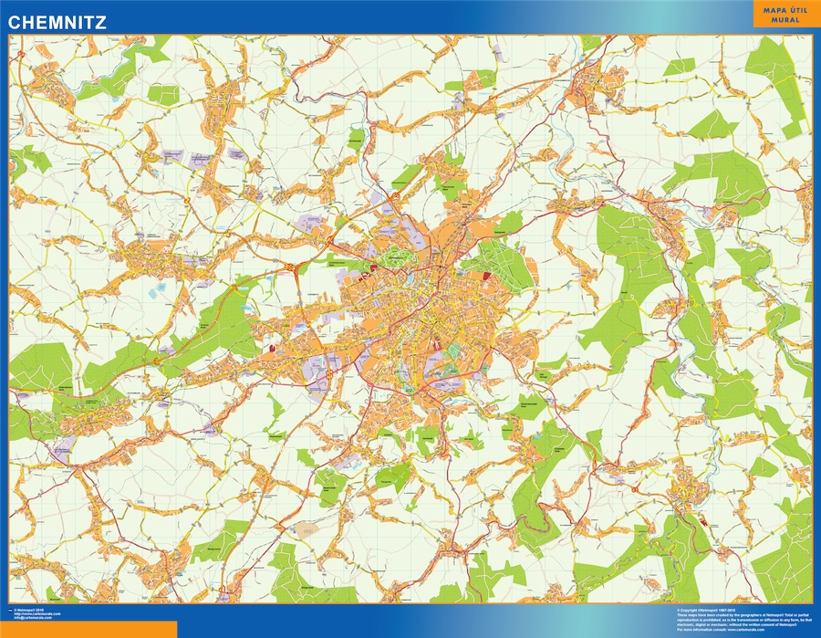 Chemnitz karte