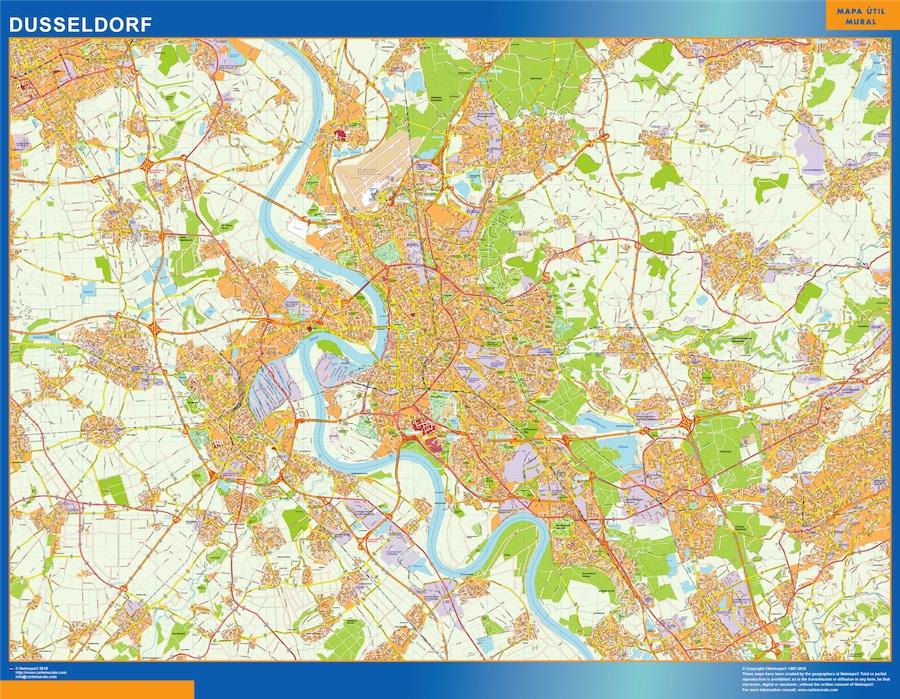 Dusseldorf karte