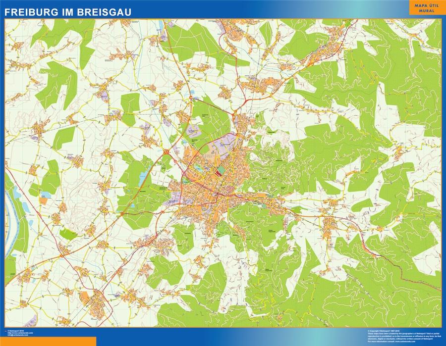 Freibug im Breisgau karte