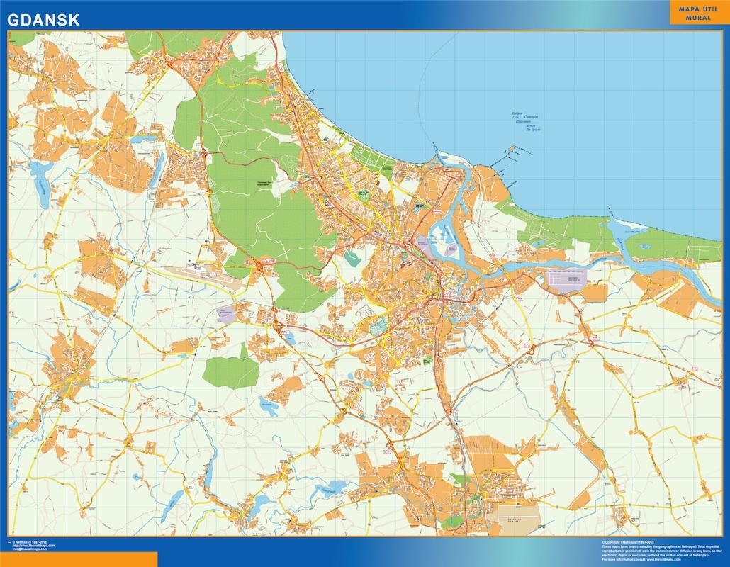 Gdansk mapa