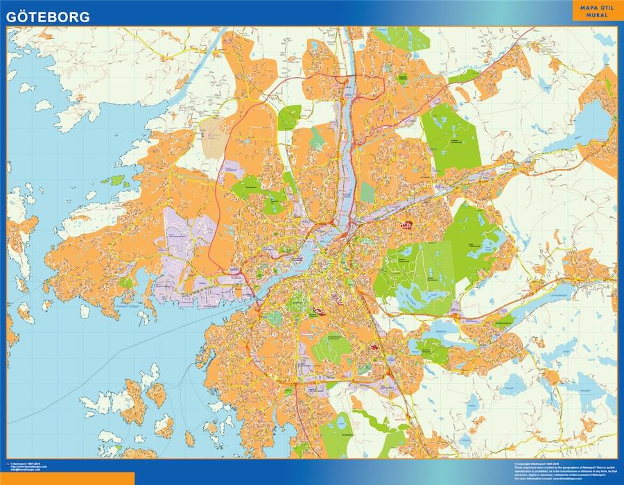 Goteborg map