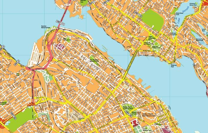 Halifax maps