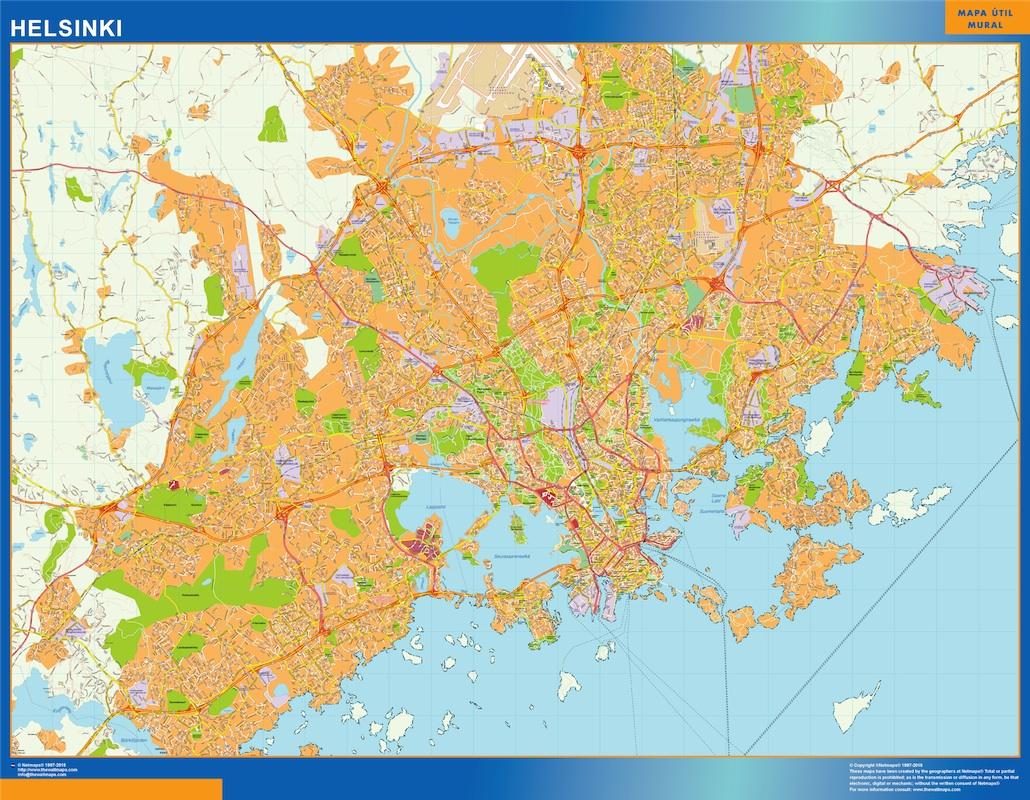 Helsinki kartta