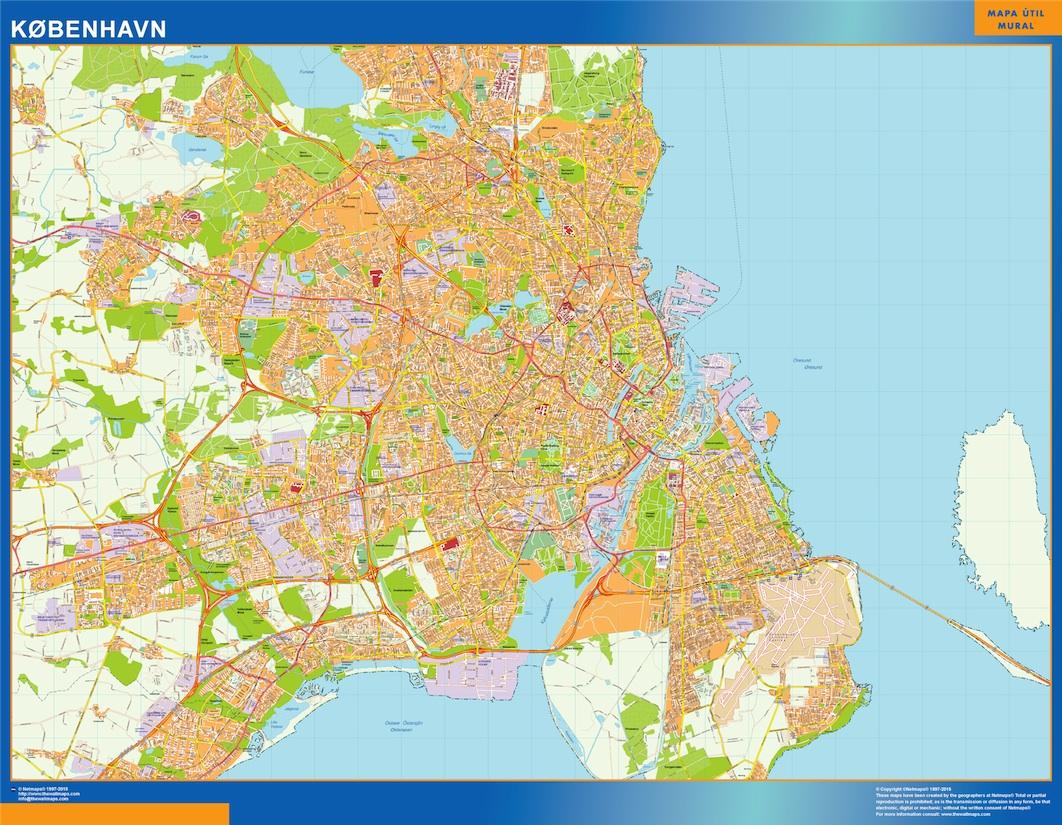 Find And Enjoy Our Kobenhavn Kort Thewallmaps Com
