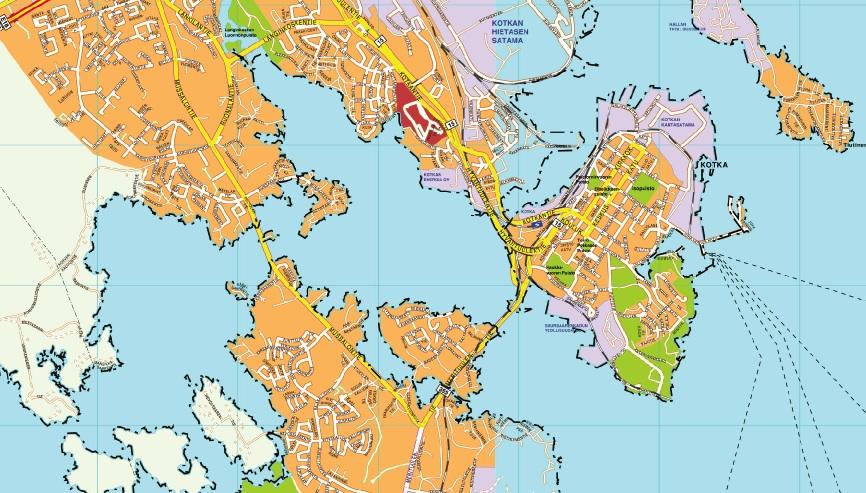 Kotka map