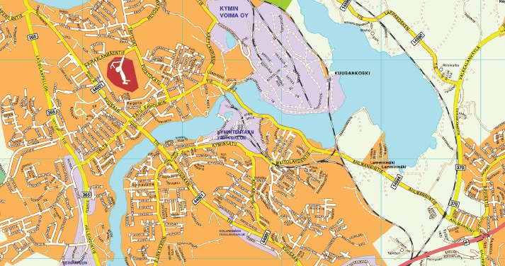 Kouvola map
