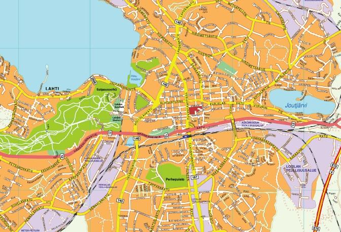 Lahti map