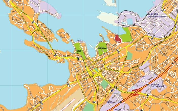 Lappeenrata map