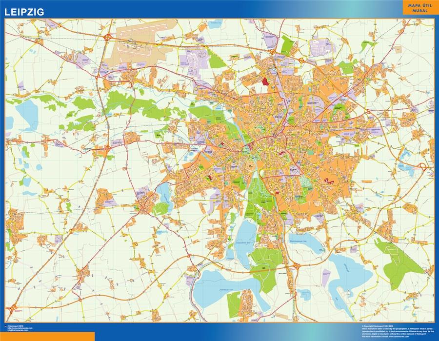 Leipzig karte