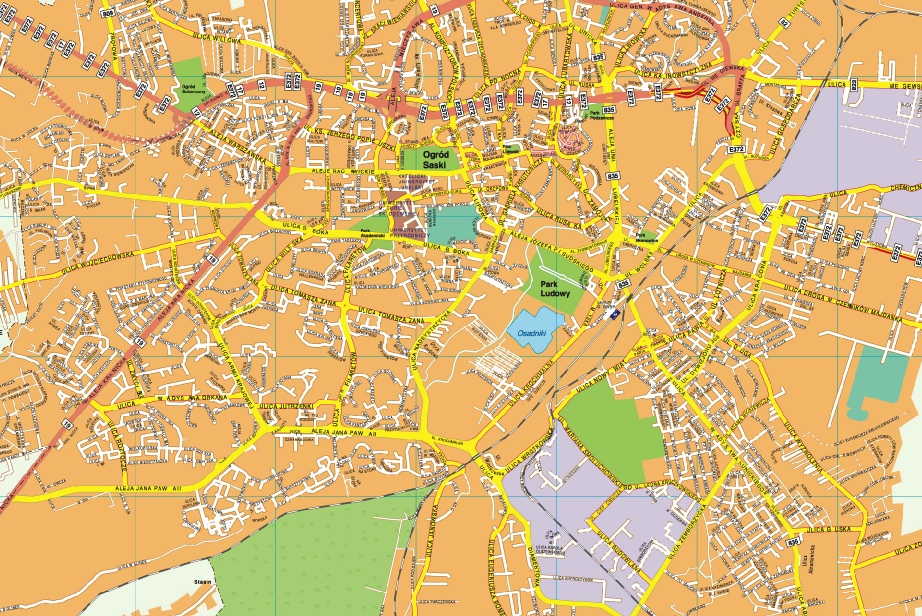 Lublin map