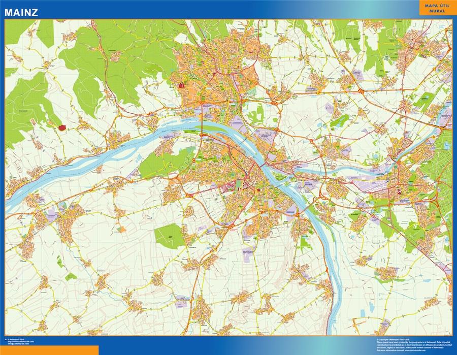 Mainz karte