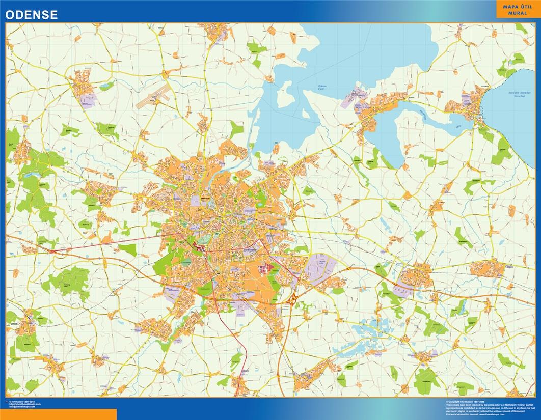 Find And Enjoy Our Odense Kort Thewallmaps Com