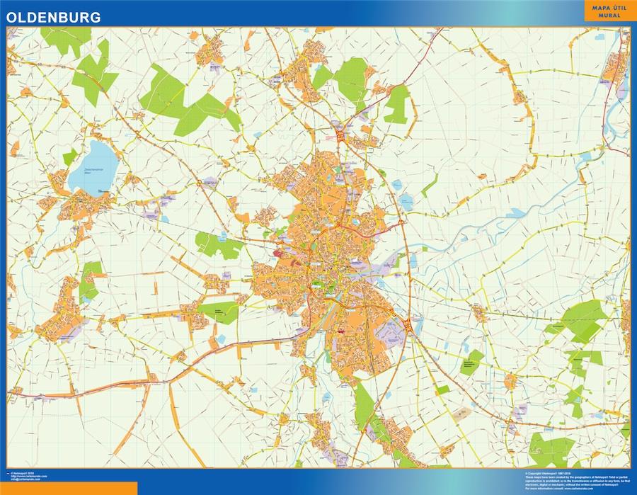 Oldenburg karte