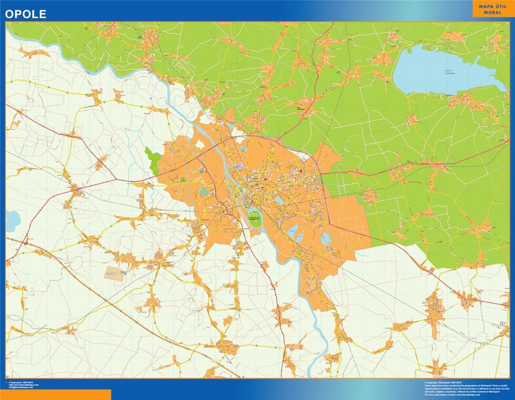 Opole mapa