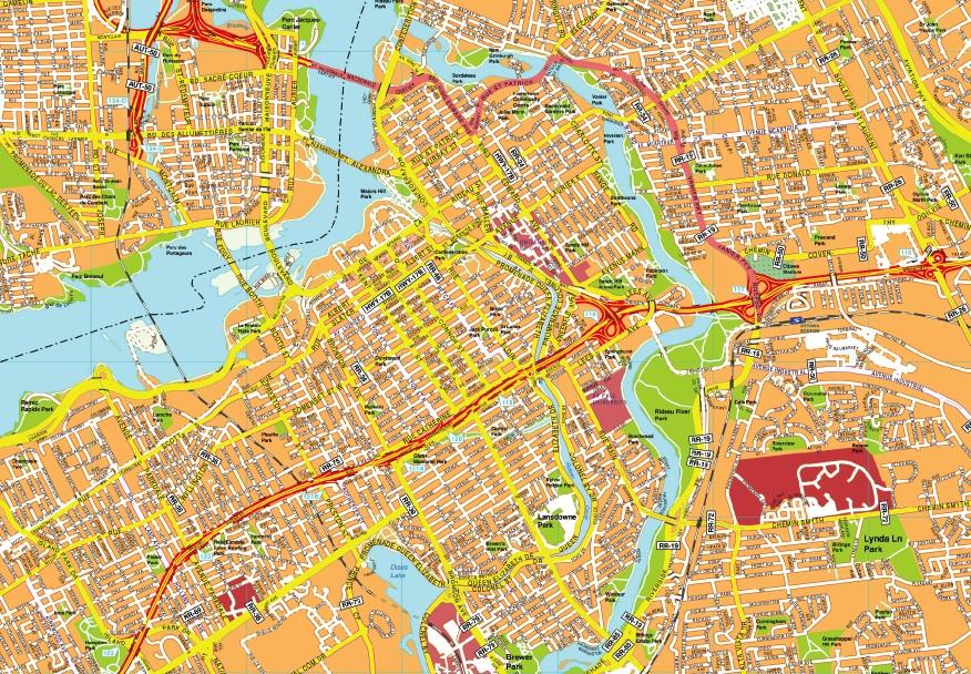 Ottawa maps