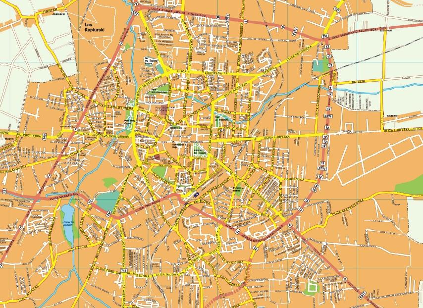 Radom map