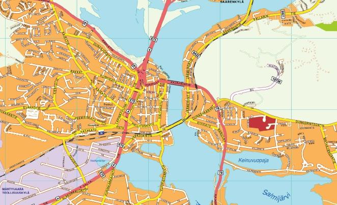 Rovaniemi map