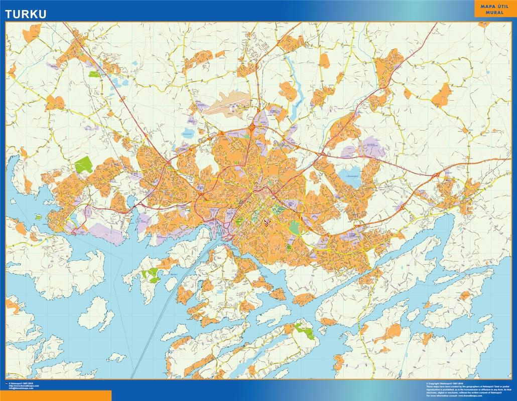 Turku kartta