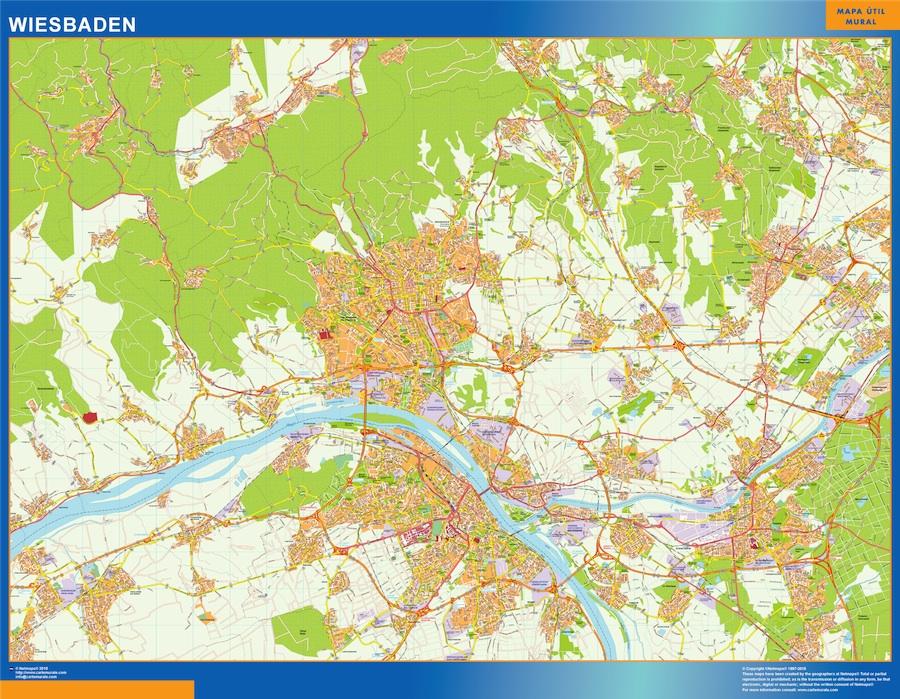 Wiesbaden karte