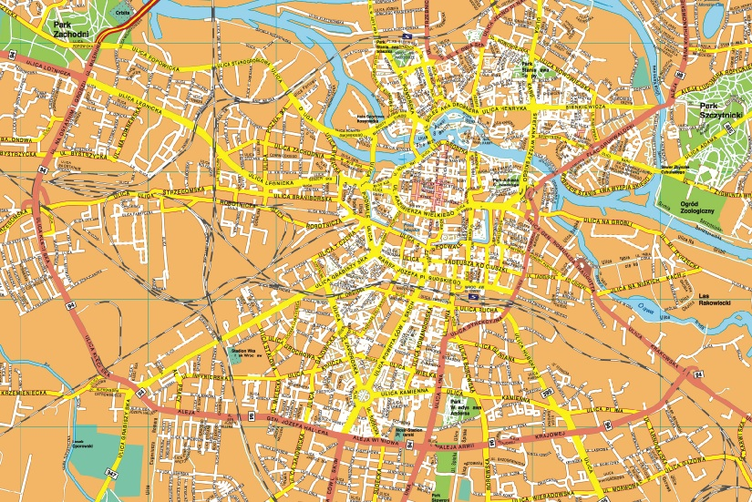 Our Wroclaw Mapa Wall Maps Mapmakers Offers Poster